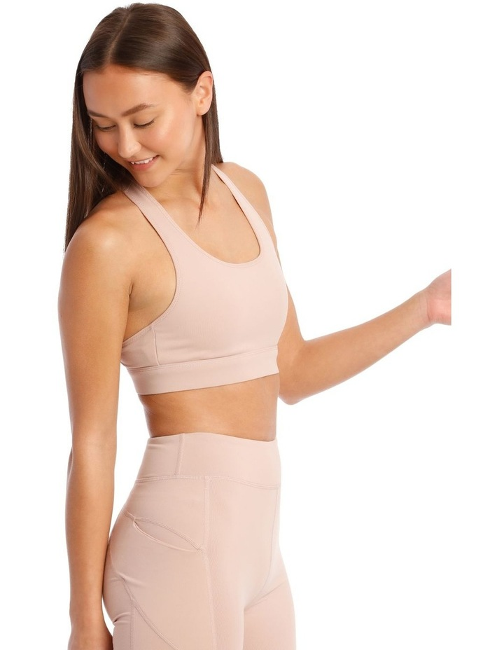 Performance Crop Top In Blush image 3