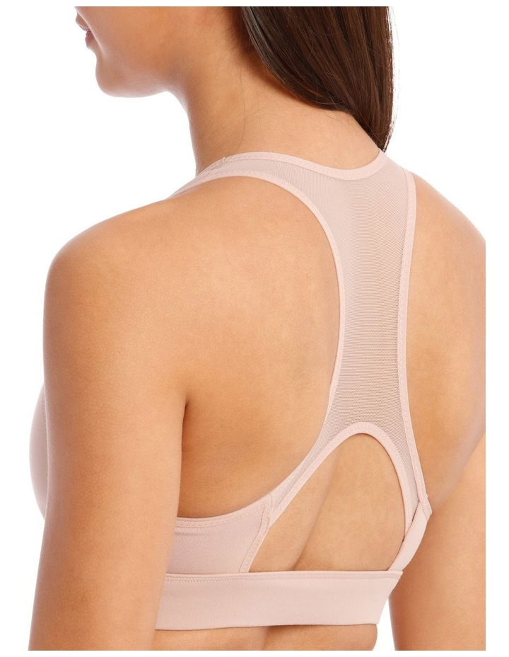 Performance Crop Top In Blush image 5