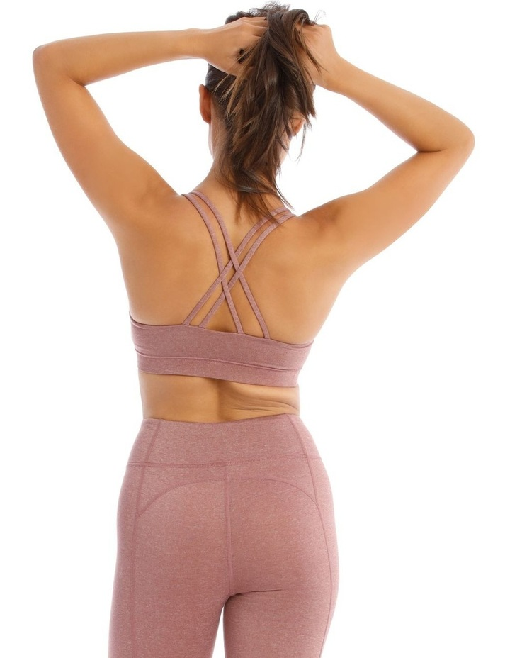 Balance Crop Top In Mauve Marle image 3