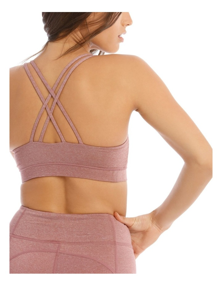 Balance Crop Top In Mauve Marle image 4