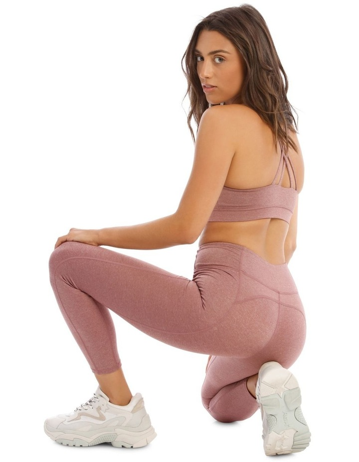 Balance Crop Top In Mauve Marle image 5