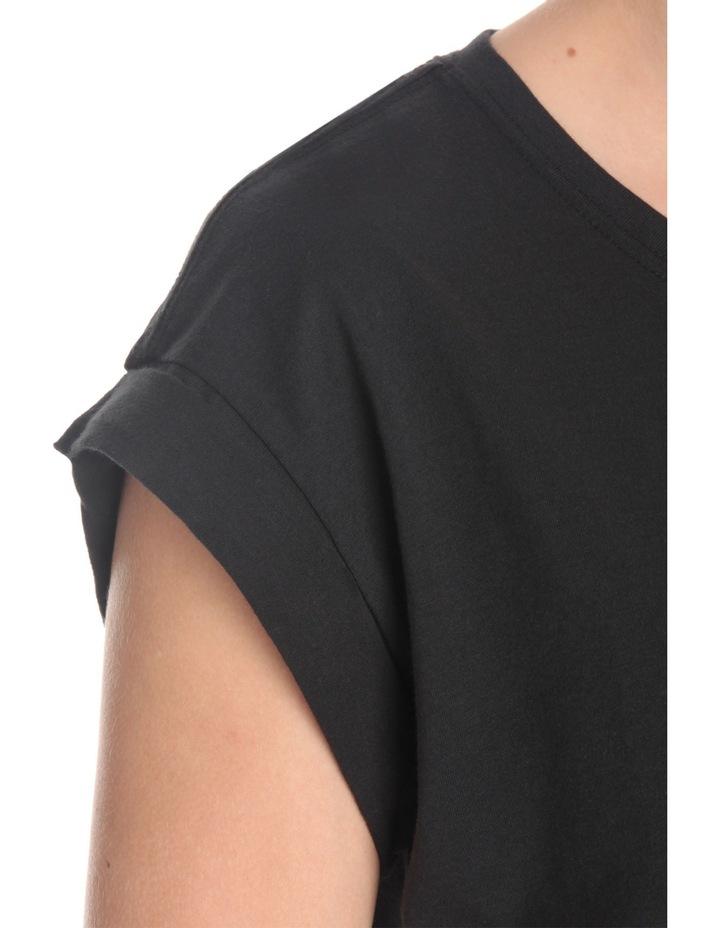 Boyfriend Roll Sleeve T-Shirt image 4