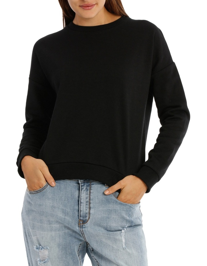 Long Sleeve Basic Crew Neck Sweat image 1