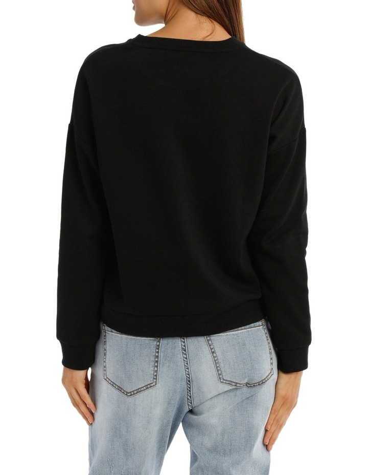 Long Sleeve Basic Crew Neck Sweat image 3