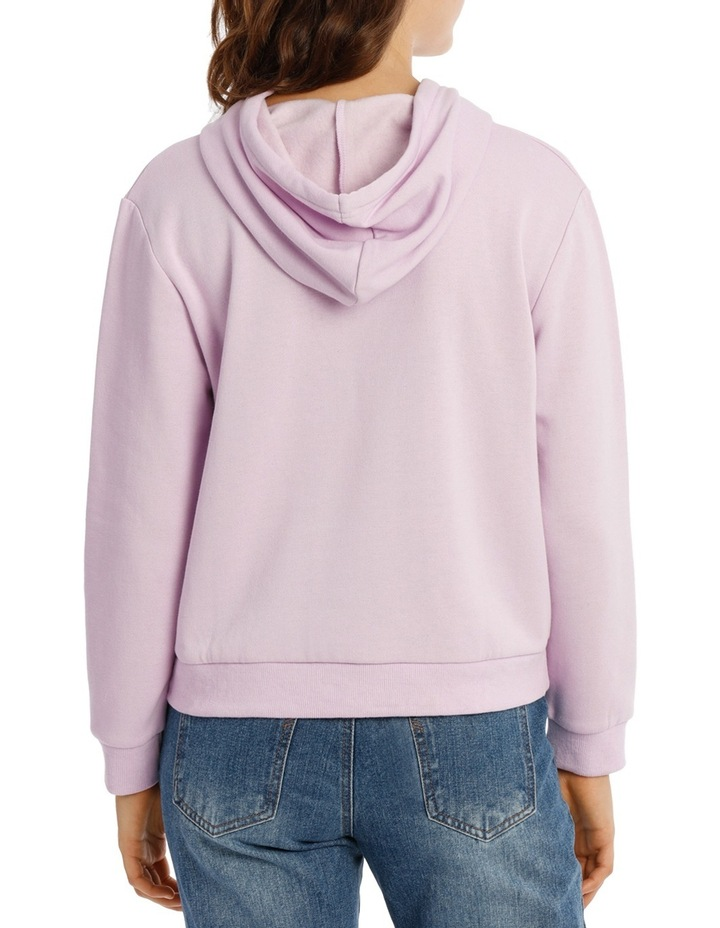 Long Sleeve Basic Hoodie Sweat image 3