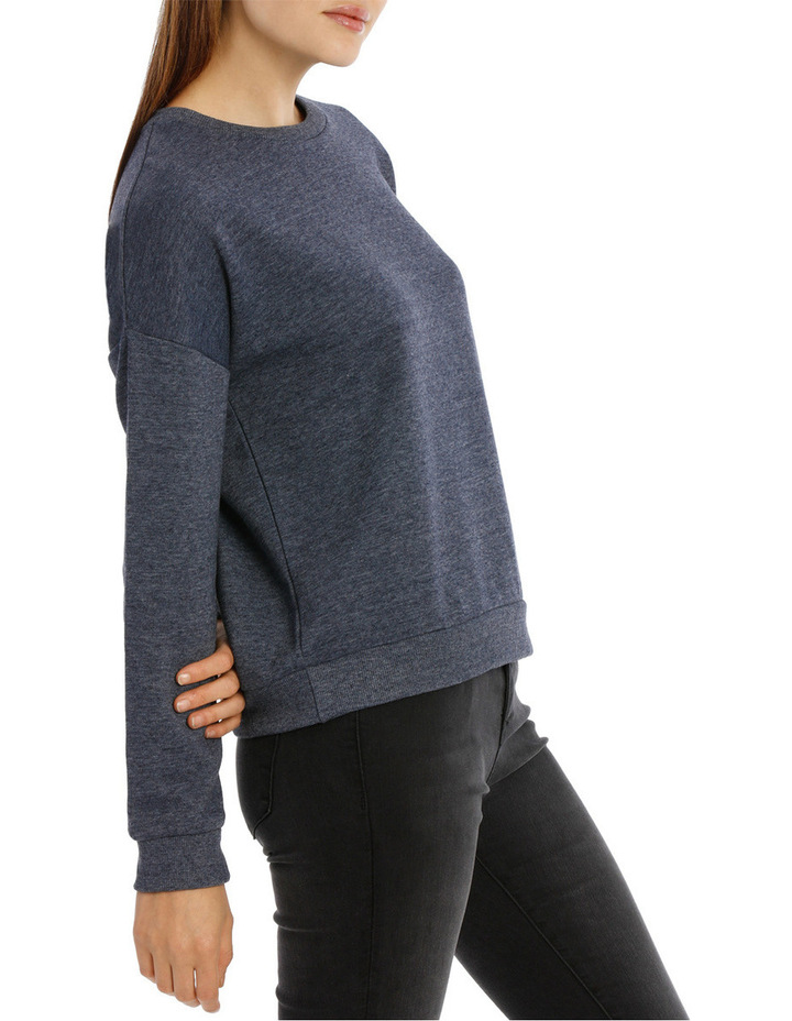 Long Sleeve Basic Crew Neck Sweat image 2