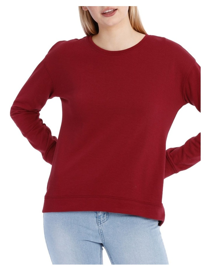 Terry Back Basic Sweat Top image 1