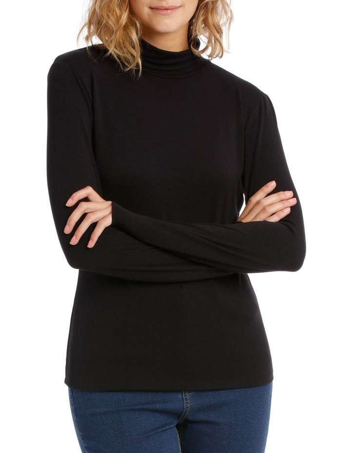 Roll Neck Long Sleeve Top image 1