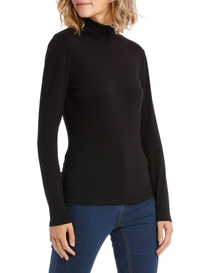 Roll Neck Long Sleeve Top image 2