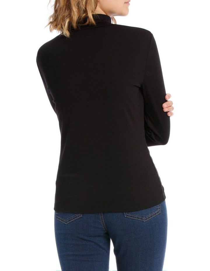 Roll Neck Long Sleeve Top image 3