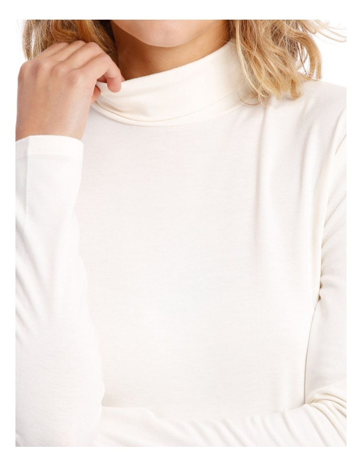 Roll Neck Long Sleeve Top image 4