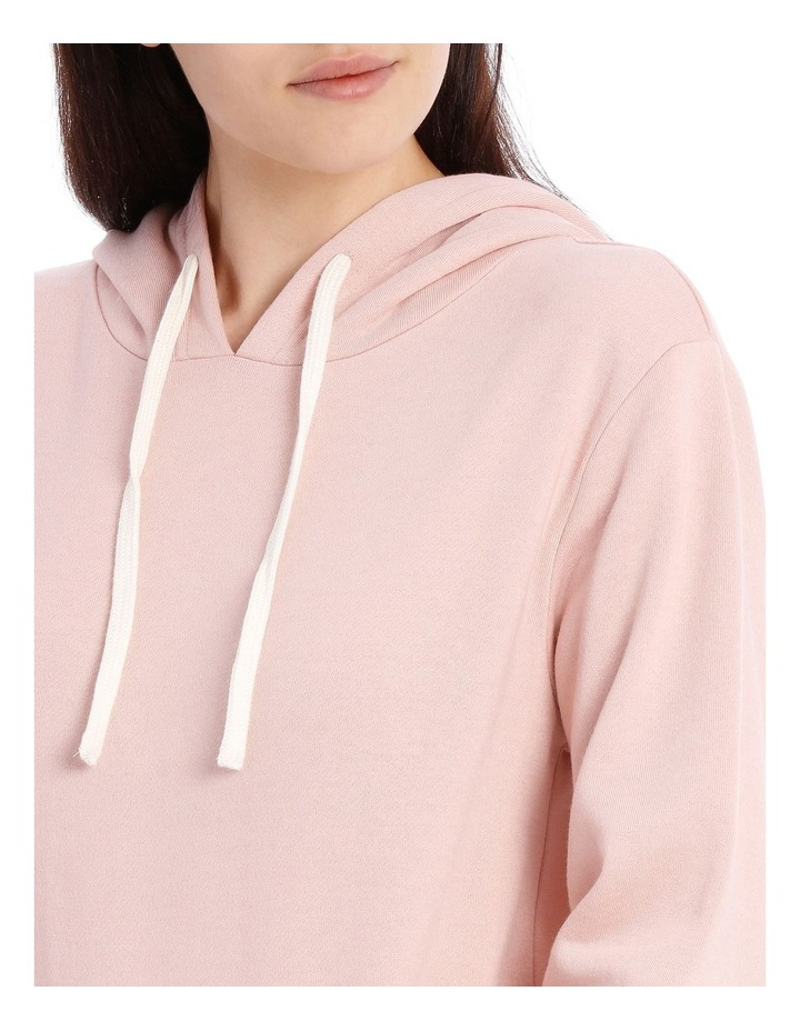 Fleece Back Hooded Sweat Top image 3