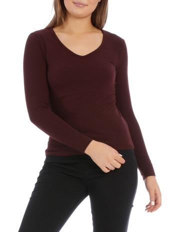 d0406e1b1c0 Miss Shop EssentialsVee Neck Long Sleeve Top. Miss Shop Essentials Vee Neck Long  Sleeve Top