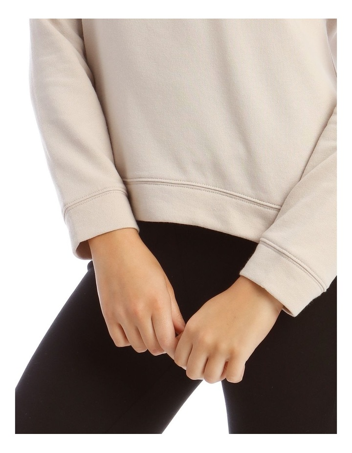 Terry Back Basic Sweat Top image 4