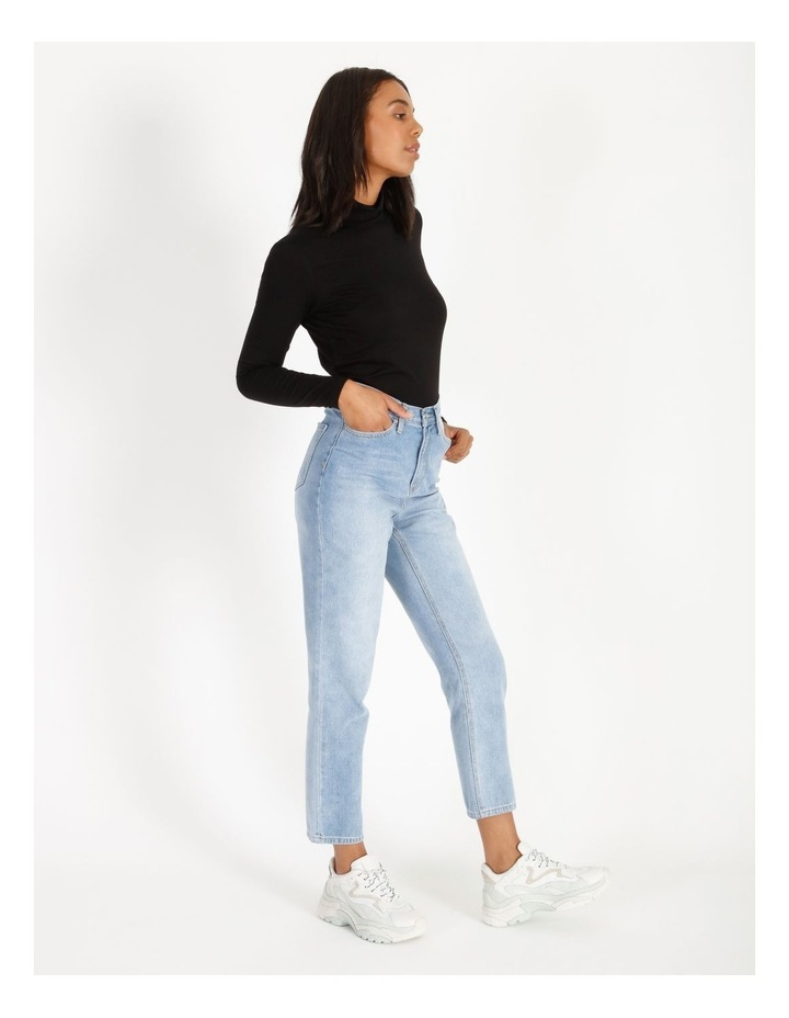 Roll Neck Long-Sleeve Top image 2