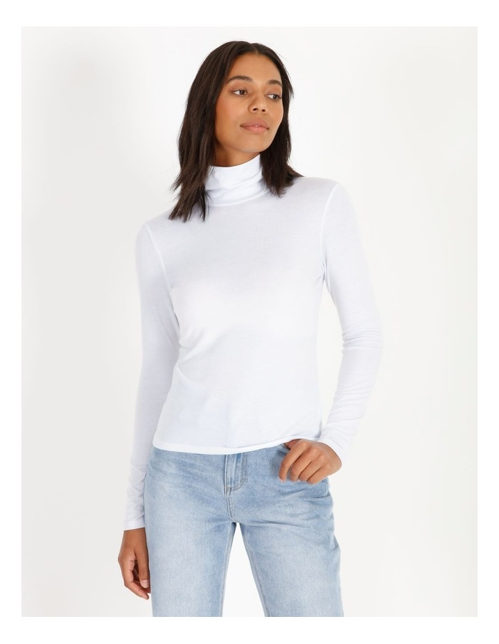 Roll Neck Long-Sleeve Top image 1