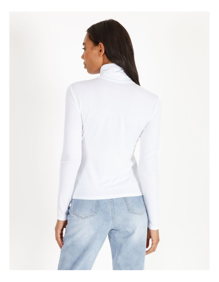 Roll Neck Long-Sleeve Top image 3