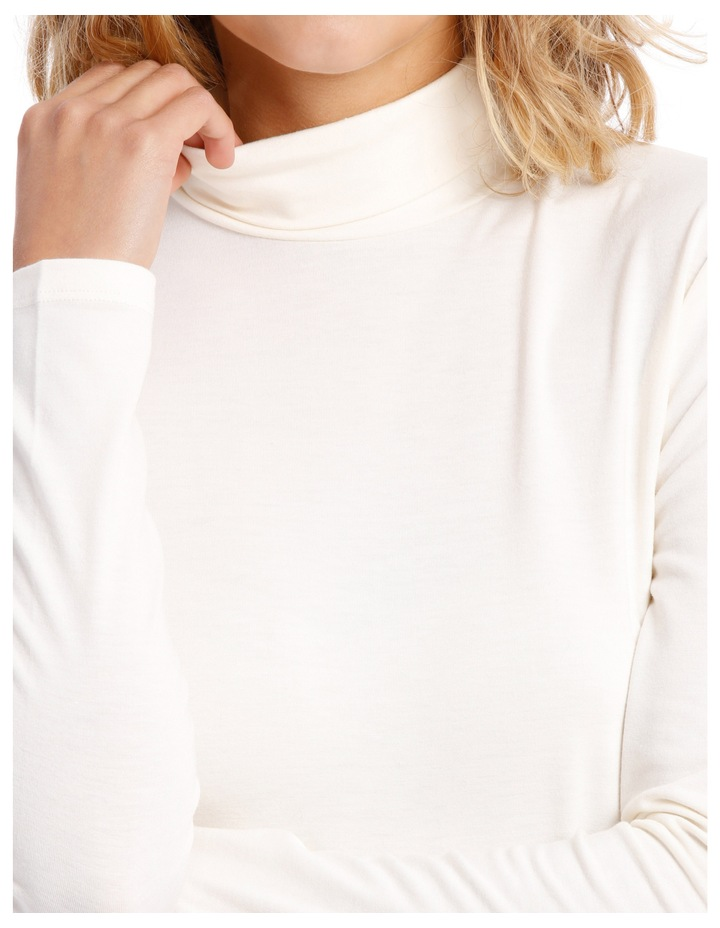 Roll Neck Long-Sleeve Top image 4