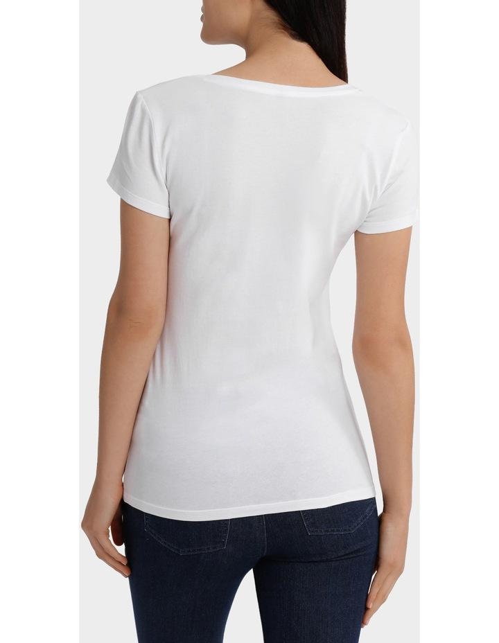 Basic t/shirt short sleeve image 3