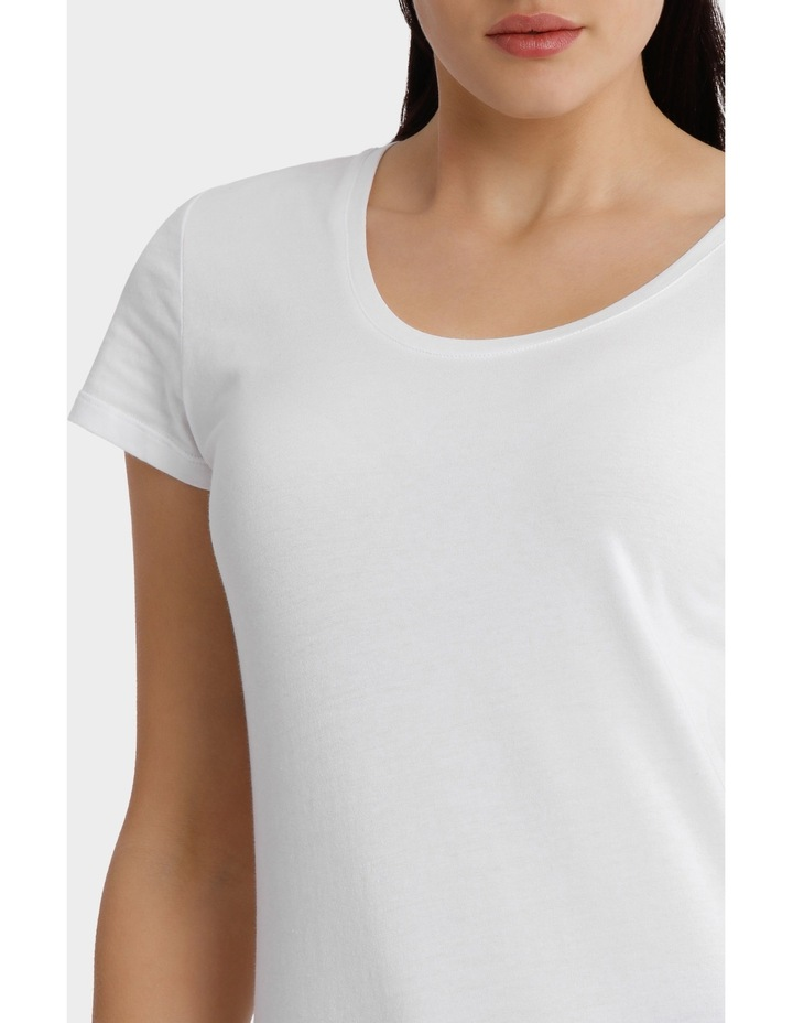 Basic t/shirt short sleeve image 4
