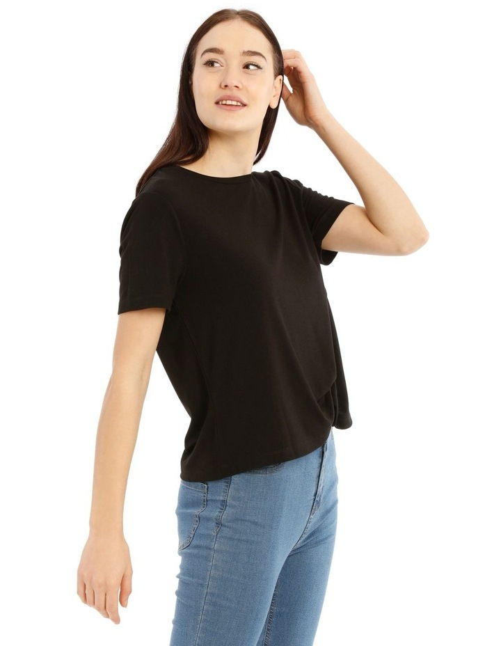 Short Sleeve Side Knot Tee image 2