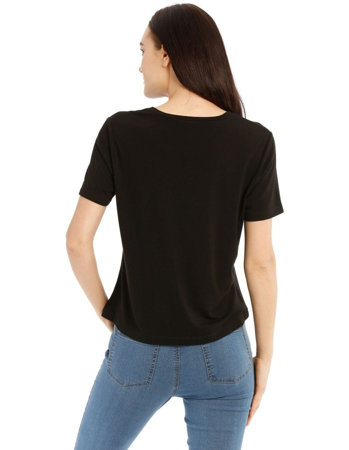 Short Sleeve Side Knot Tee image 3