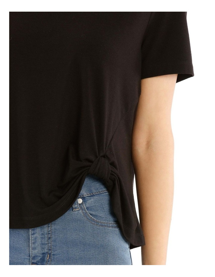 Short Sleeve Side Knot Tee image 4