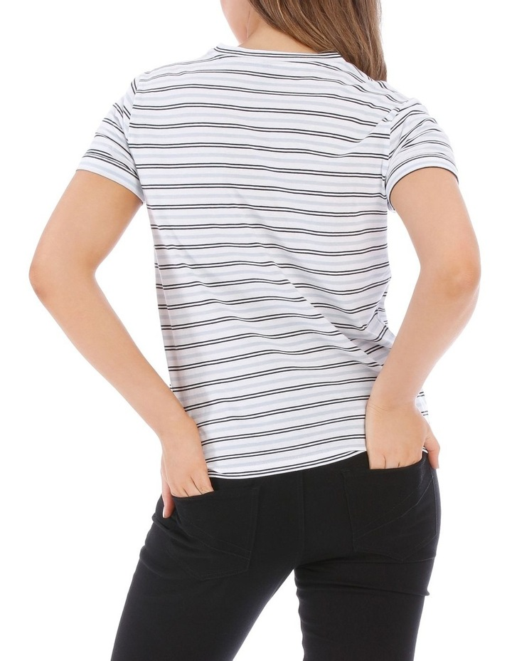 Rolled Cuff Tee image 3