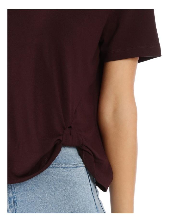 Short Sleeve Side Knot Tee image 5