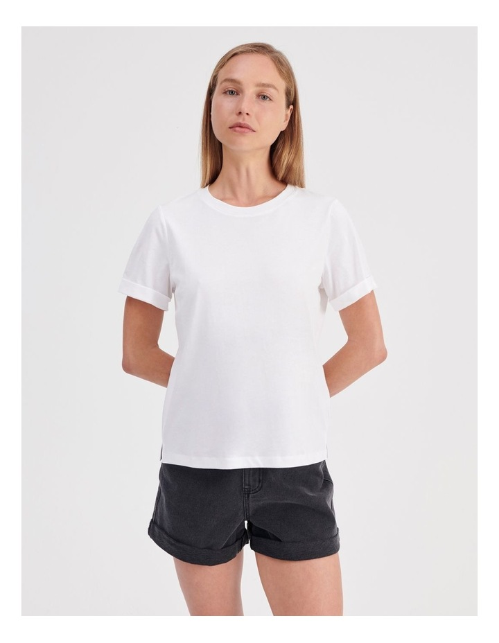 Roll Cuff Jersey Tee image 2