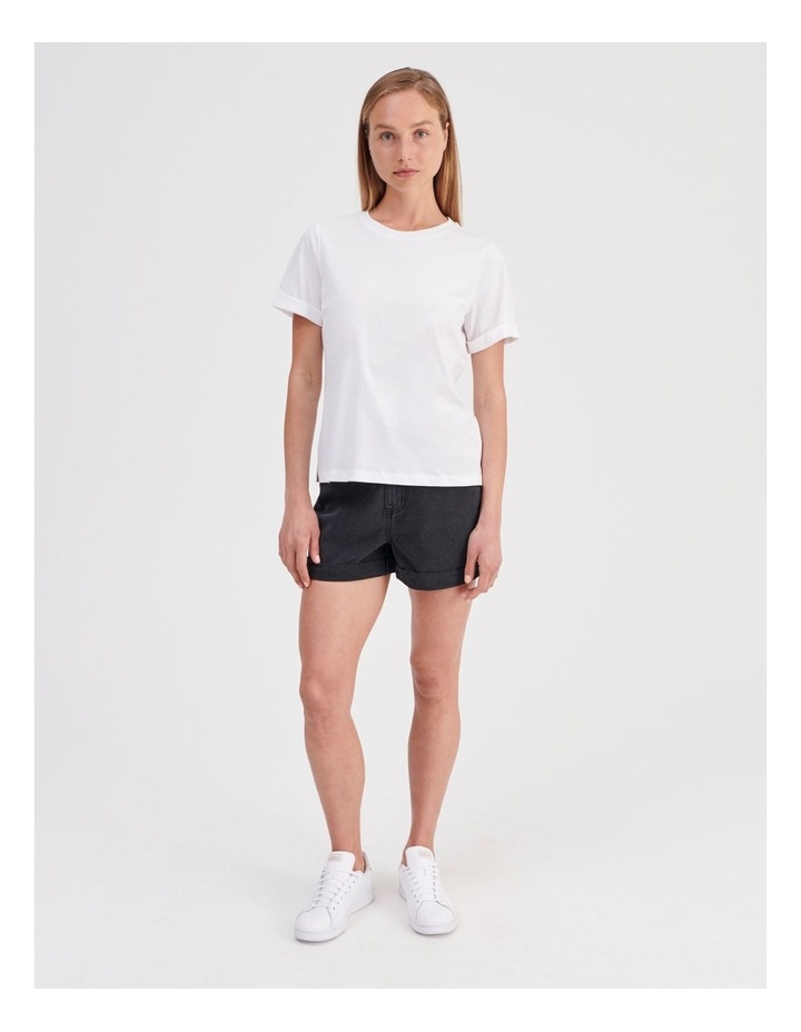 Roll Cuff Jersey Tee image 3
