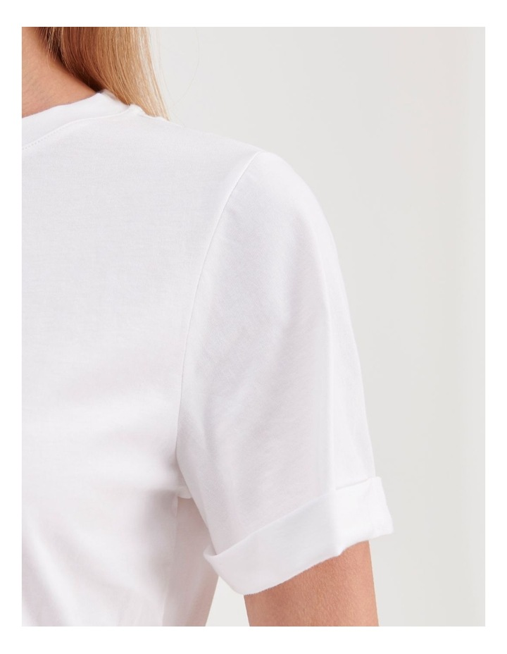 Roll Cuff Jersey Tee image 6