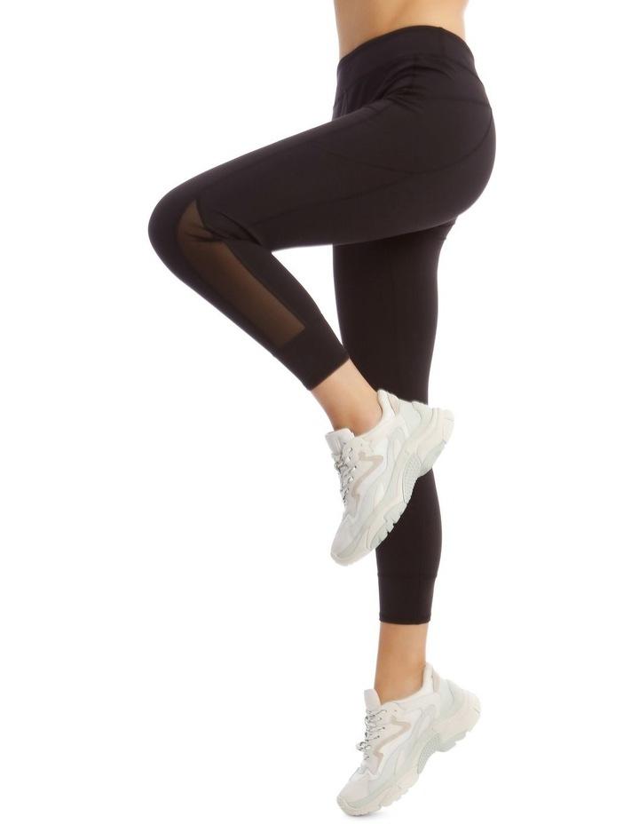 Performance Legging in Black image 2