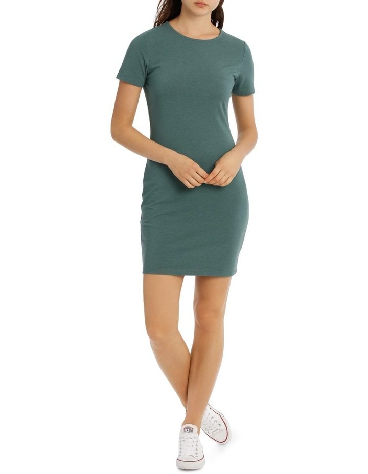 Cap Sleeve Bodycon Dress image 1