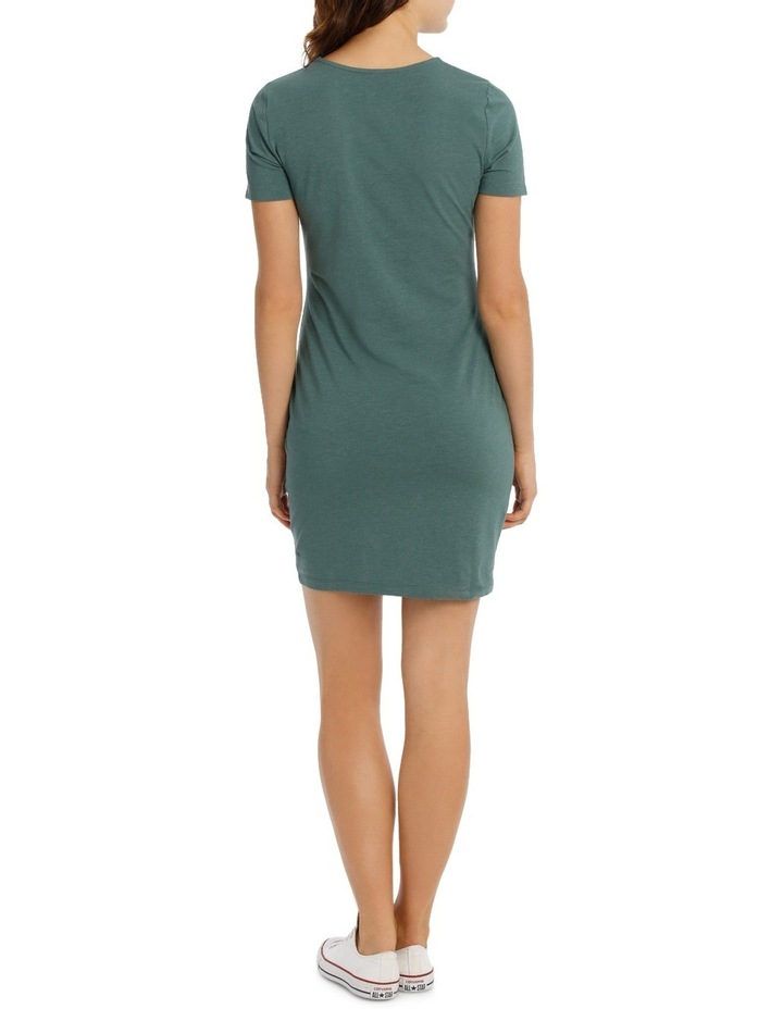 Cap Sleeve Bodycon Dress image 3
