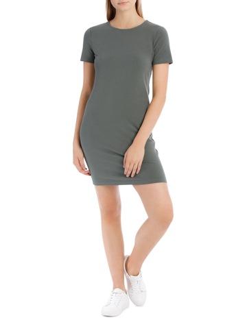 d9116b0736 Miss Shop EssentialsCrew Neck S/Slv Bodycon Dress. Miss Shop Essentials  Crew Neck S/Slv Bodycon Dress