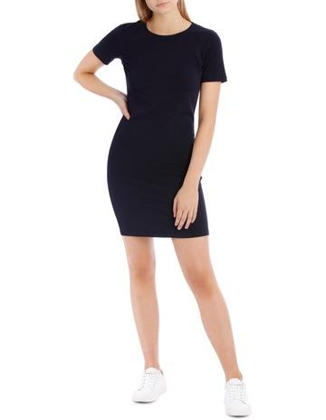 ed793218fe Miss Shop EssentialsCrew Neck S/Slv Bodycon Dress. Miss Shop Essentials Crew  Neck S/Slv Bodycon Dress
