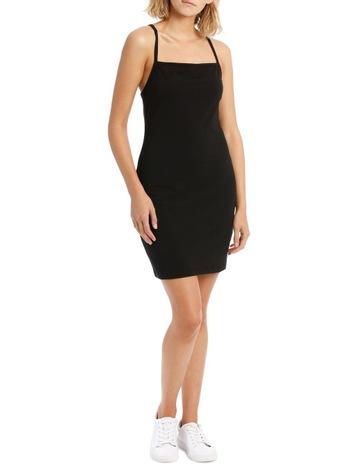 5a3fa4832 Miss Shop EssentialsBodycon Square Neck Dress