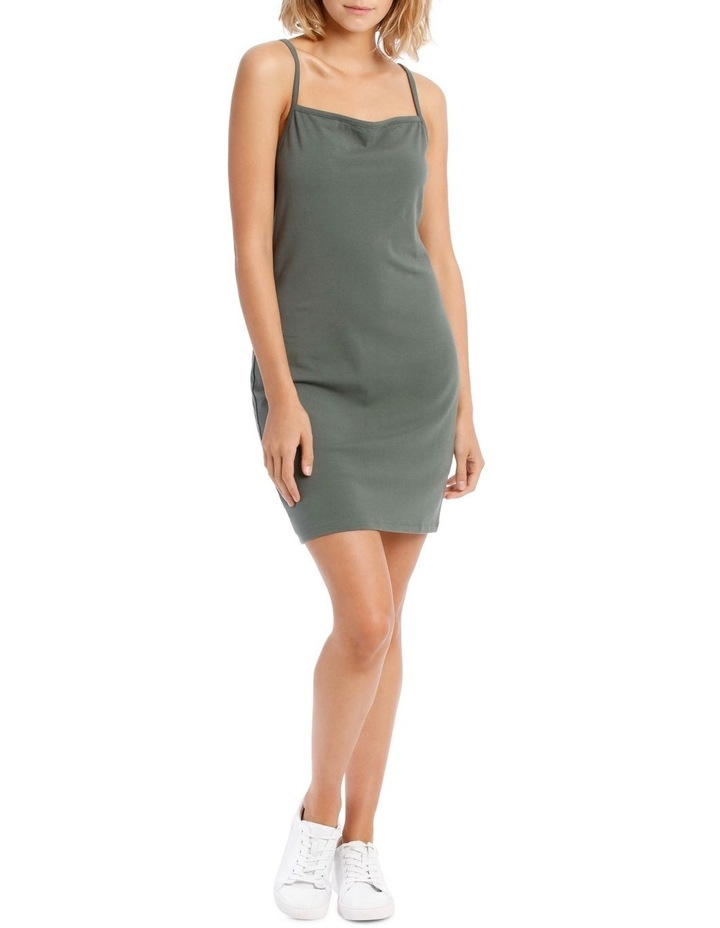 Bodycon Square Neck Dress image 1