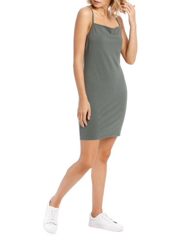 Bodycon Square Neck Dress image 2