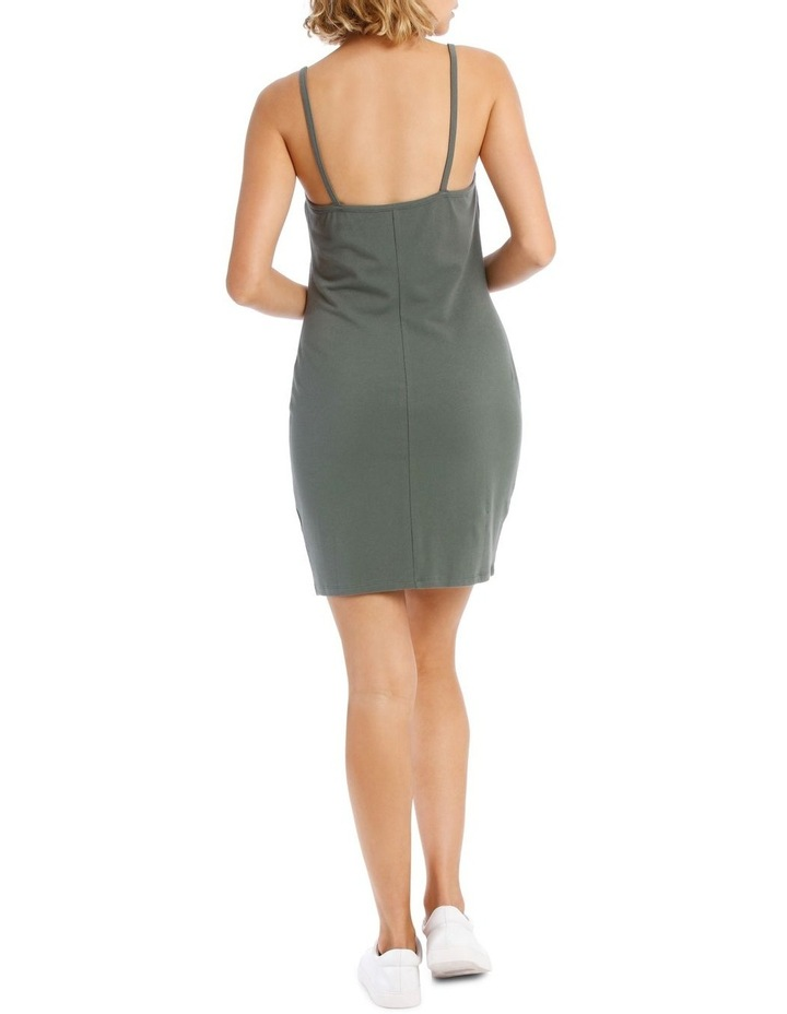 Bodycon Square Neck Dress image 3