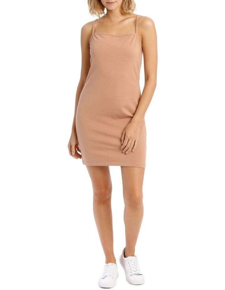 Bodycon Square Neck Dress image 1