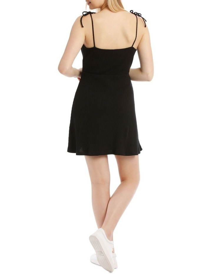 Button Front Skater Dress image 3
