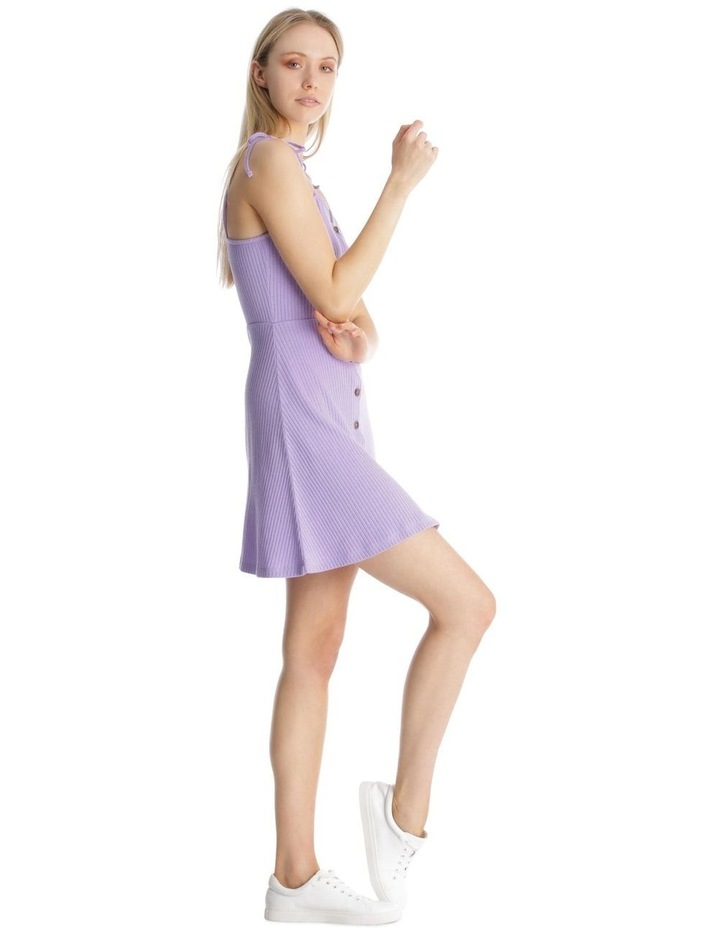 Button Front Skater Dress image 2