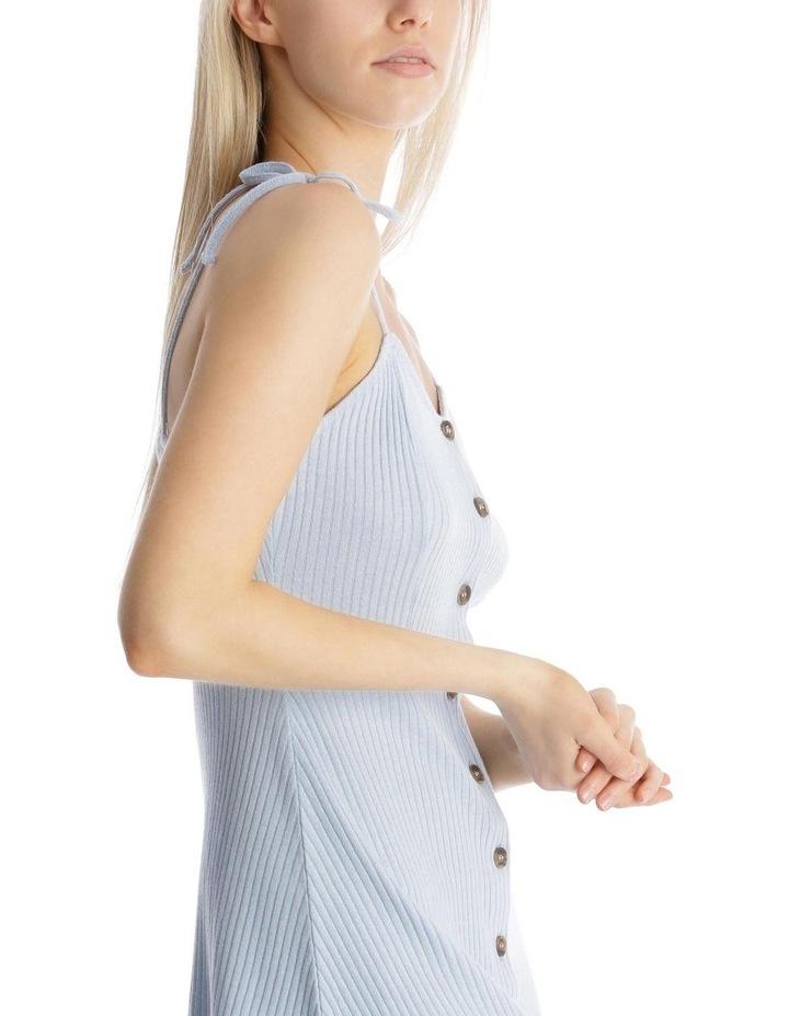 Button Front Skater Dress image 4