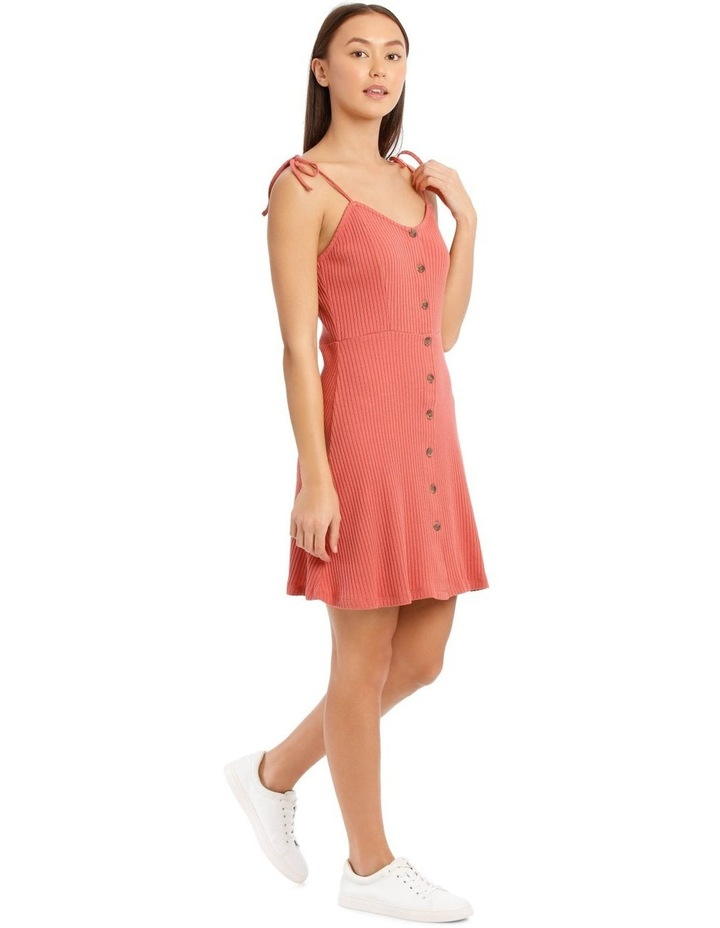 Button Front Skater Dress image 2