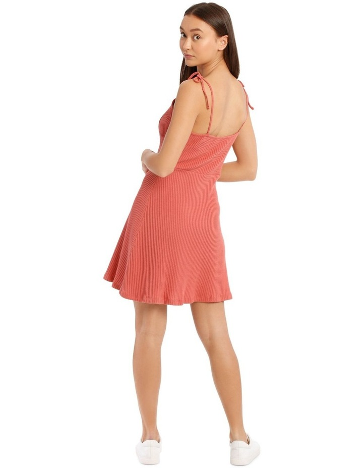 Button Front Skater Dress image 3