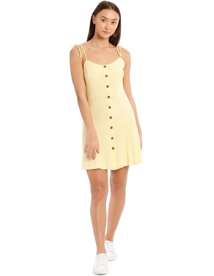 Button Front Skater Dress image 1