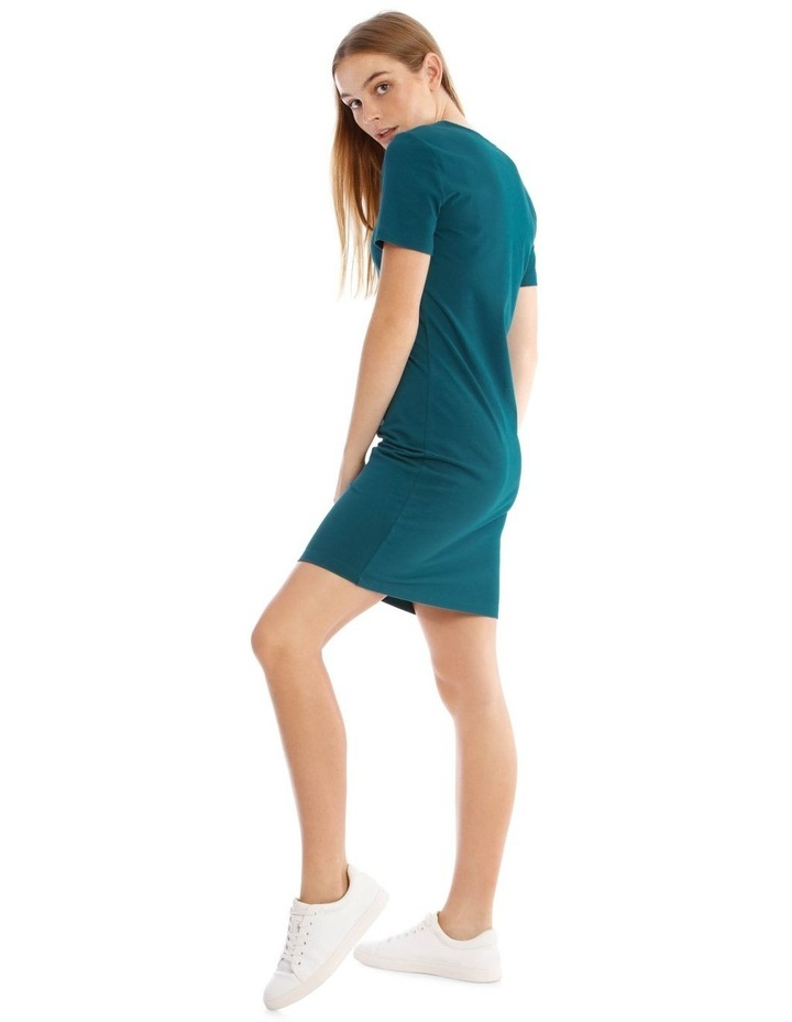 Crew Neck Short Sleeve Body-Con Dress image 2