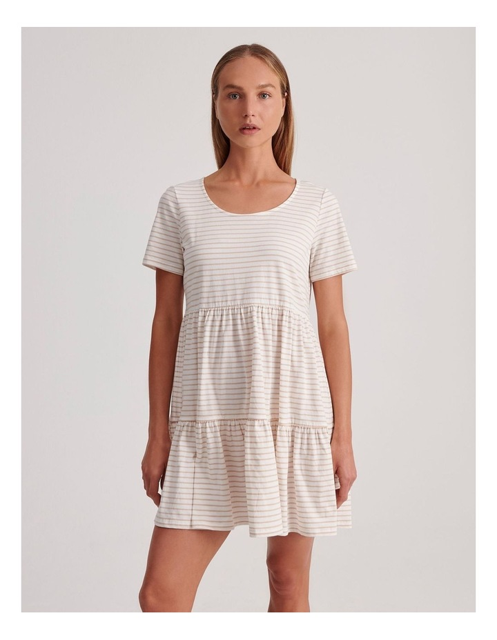 Baby Doll Tiered Tee Dress image 1